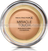 Max Factor Тональная Основа Miracle Touch 80 bronze