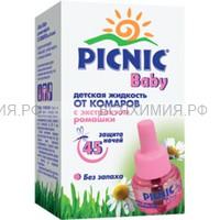 Picnic Baby 30мл жидкость от комаров 45 ночей