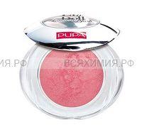 ПУПА Запеченные румяна тон 103 сатиновый розовый Like A Doll