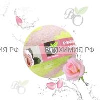 Bliss Organic Шар для ванны бурлящий Роза 130 гр *6*60*