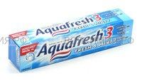 Зубная паста Аквафреш Тотал Кэа 3 освежающая- мятная 100 мл. (СИН) *12*24