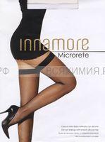 Иннаморе гольфы MicroRete GB nero (мелкая сетка)