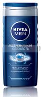 """Нивея 80702 Душ-гель мужской """"Экстремальная свежесть"""" ф *6*24"""