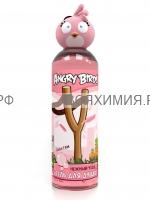 Angry Birds Гель для душа Нежный уход Розовая птица 200мл *3*24