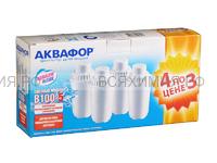 Кассета для воды АКВАФОР В-100-5 (комплект 4 штуки) 4*