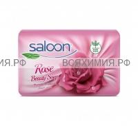 SALOON туалетное мыло РОЗА 90гр . *12*72*