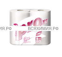 Туалетная бумага PROtissue 2-х сл. 4 шт белая XS * 24 (C177)