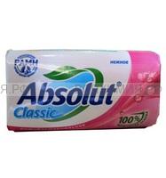 Абсолют туалетное мыло Нежное классик 90гр. *12*72*