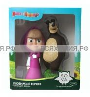 Маша и Медведь Фитосоль для ванн Летний (Маша+Миша) *9