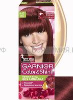 КОЛОР ШАЙН краска для волос 6.60 Дикая клюква *3*12