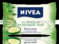 Нивея 82431 Мыло-уход 'Огурец и зеленый чай' 90гр. 6*36