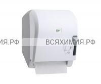 Диспенсер для рулонных полотенец K.8 механический (белый)