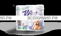 """Туалетная бумага """"Ь"""" KLEO 3-х сл. 4 шт. лаванда (18)"""