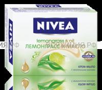 Нивея 80698 Крем-мыло Лемонграсс и масло 100гр. 6*36