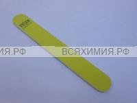 VILSEN Пилка для ногтей, абразив 120/120 , цвет желтый *5*50