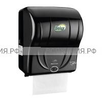 Диспенсер для рулонных полотенец R-1301 сенсорный (черный)
