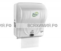 Диспенсер для рулонных полотенец R-1301 сенсорный (белый)