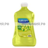 """Saloon Жидкое мыло """"С натуральным оливковым маслом"""" 1,8 л. *4*8*"""
