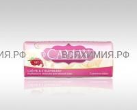 КАМЕЙ мыло-КУСКОВОЕ Крем Клубника 85 гр *6*48