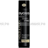 Сьосс Лак для волос Hold & Flext Э.С.Ф. 400мл *6