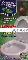 DREM PARK Стикер для унитаза на блистере Лесная свежесть в уп.3шт. 12*36*