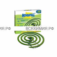 МОСКИТОЛЛ Спирали Универсальная защита от комаров 10 шт 6*12