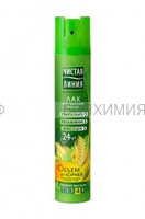Чистая Линия Лак для волос Обем от корней 200мл *8 *16