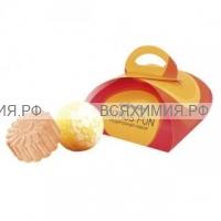 Набор CITRUS FUN (твердое глицериновое мыло 80 гр + бурлящий шар 120 гр) *6*12