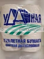 Туалетная Бумага ВЕИРО УДАЧНАЯ 4 шт 2-х сл. *12