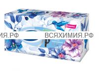 Косметические салфетки ZEWA Deluxe Design 3-х сл. 90 листов  (18)