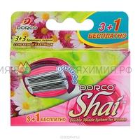 ДОРКО SHAI Sweetie кассеты (3+1) с 6 лезвиями женский *6*12