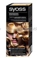Краска для волос СЬОСС 8-6 светлый блонд *3*48