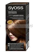 Краска для волос СЬОСС 4-8 каштановый шоколадный *3
