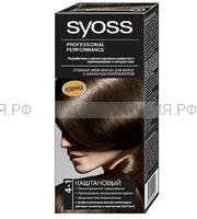 Краска для волос СЬОСС 4-1 каштановый *3