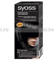 Краска для волос СЬОСС 1-1 черный 3 *48