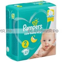 Памперс New Baby мини (4-8) 27шт. *1*6