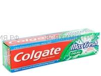 Зубная паста Колгейт Макс фреш Нежная мята 100мл. (зеленая) *12*48