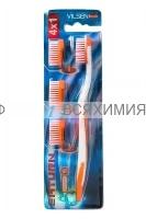 VILSEN зубная щетка SATURN (щетка с ТРЕМЯ смен.головк.) *12*144*