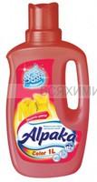 Alpaka Color Жидкость для стирки цветных тканей 1000 мл 3*9