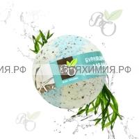 Bliss Organic Шар для ванны бурлящий Морские водоросли 130 гр *6*60*