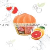 Bliss Organic Шар для ванны маффин бурлящий Грейпфрутовый 130 гр *5*45