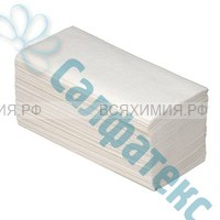 Листовые полотенца V-слож. BELUX 2-х сл. 200 л. белые *18