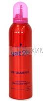 Гоу ту би Мусс-спрей для стайлинга Мегамания (СУПЕРобъем) 250мл *3*6