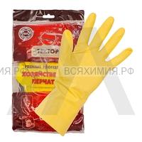 ТЕХТОР перчатки латексные М 12*240