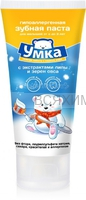 Умка Детская зубная паста 65гр от 0 до 3лет Липа и Овес *12*24