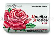 Невская косметика Мыло Цветы Любви 90 гр. Роза 6*72