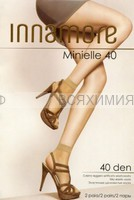Иннаморе носки Minielle 40 miele Lycra (по 2-е пары)
