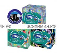 Косметические салфетки ZEWA Deluxe Aroma Collection 3-х слойные 60 листов *18