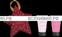 Набор Звезда (красн.) Spa-маска для рук + Крем для рук масло ши 50мл *9*18