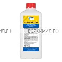 DEC PROF Дезинфицирующее средство Антибактериальное 1л (Спирт) *6